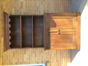 tall 40s style cabinet in good used condition