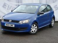 2010 VOLKSWAGEN POLO 1.2 S 3 DDOR 6 SERVICE STAMPS LOW INSRANCE IDEAL FIRST CAR