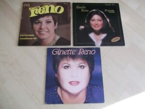 GINETTE RENO vynile 3 tours