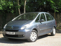 2005/55 CITROEN XSARA PICASSO 1.6i Desire 2 ESTATE -ONLY 56000 MILES !!