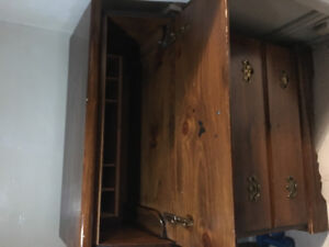 Small 3drawer dresser with foldable table top