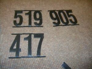 4 INCH ADVERTISING SIGN NUMBERS