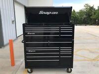 "Snap on Large 53"" tool box roll cab KRA"