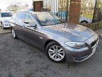 2012 12 BMW 5 SERIES 3.0 530D AC TOURING 5D 255 BHP DIESEL EX POLICE CAR FSH