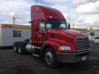 2013 MACK DAY CAB - M DRIVE - 207,000 KMS - BLOW OUT PRICE!