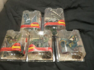 Attention Collectors!!! Dragon Action Figures For Sale