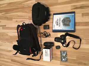 Canon EOS Rebel T3 1100D Camera