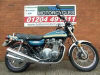 Fully restored 1976 Z900, Painted to Match the very collectable Kawasaki Z1B
