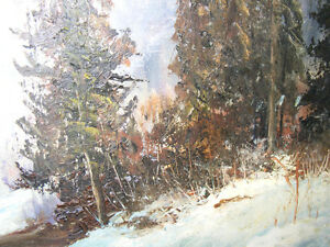 ORIGINAL OIL WORKS by    F. J. Briant London Ontario image 7