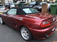 MGF SPORT CONVERTIBLE SERVICE HISTORY