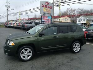 2008 Jeep Compass Sport- 2 year Unlimited km warranty included!