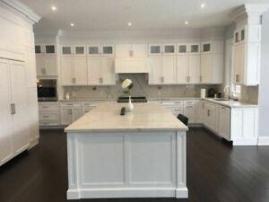 Quartz & Granite Marble Countertops - FREE  SINK 416-533-3355