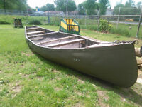 trade canoe for aluminum boat