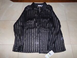Blouse   (see through)   BRAND NEW with tags