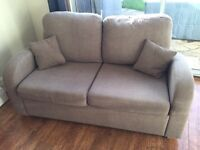 2 Seater Double Sofa Bed By Som'Teile
