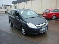 2010 Vauxhall Zafira 1.6i 16v Design 7 Seater Finance Available