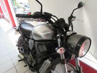 YAMAHA XSR700 ABS FULL POWER IN GARAGE METAL, 17 REG ONLY 1530 MILES...