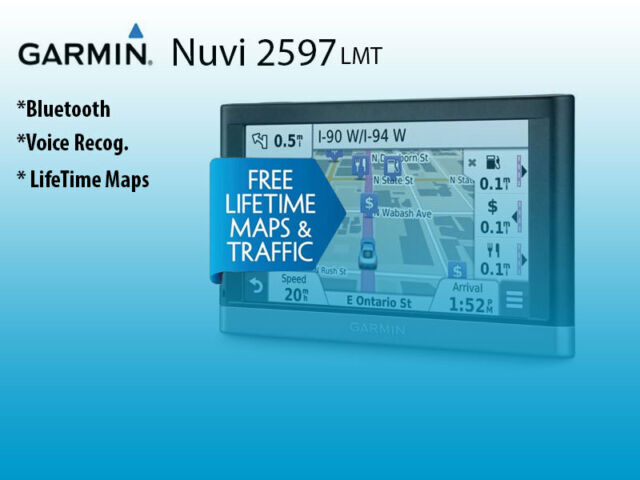 Garmin Nuvi 2597lmt Automotive Mountable Gps Ebay