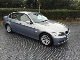 2005 (55) BMW 320 2.0TD SE Blue Beige Leather FSH Clean Car