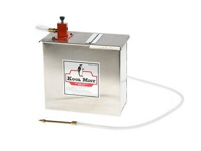 Kool Mist Misting System with Stainless Steel Tank 1 Outlet 1 Gallon