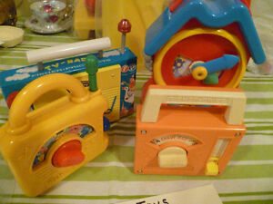 Vintage Fisher Price Wind Up Toys