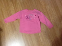 Size 4T Hanes sweat top (thick)