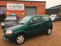 2002 Suzuki Ignis 1.3 GL Green 3dr Hatch, **ANY PX WELCOME**
