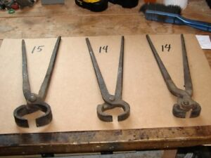 BLACKSMITH TONGES