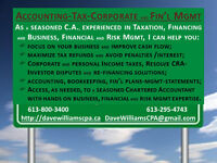 ACCOUNTING, TAXES, CORPORATE, FINANCIAL & RISK MGMT