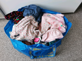Big bag of girls clothes age 2-3years