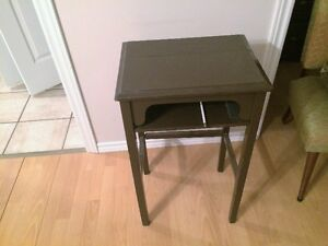 old end table