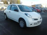 2010/10 NISSAN MICRA 1.2 VISIA WHITE LOW MILEAGE 33K