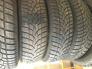 Set of 4 winter tires and rims 9029569540