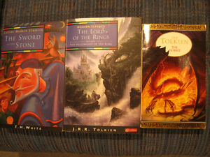 Tolkien / White: Lord of the Rings; Hobbit; Sword in the Stone