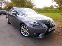 2013 Lexus IS 300h Luxury 4dr CVT Auto Vented Seats! Mercury Grey! 4 door Sa...