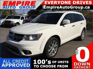 2013 DODGE JOURNEY R/T * AWD * LEATHER * HEATED SEATS * BLUETOOT