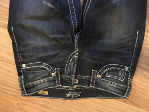 Silver jeans for sale - women's size 26