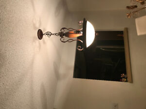 Matching Chandelier Wall Sconces and Flushmount Lighting Package