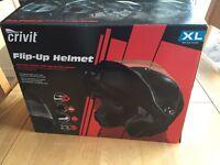 Helmet , crivit flip up