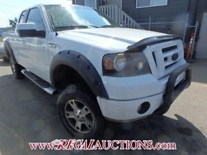 2007 FORD F150 FX4 SUPERCAB 4WD
