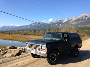Ford Bronco 1978 rust free 2x4 project