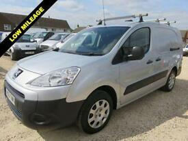 2012 61 PEUGEOT PARTNER 1.6 HDI SE L2 750 LWB FULLY RACKED OUT 42747 MILES ONLY
