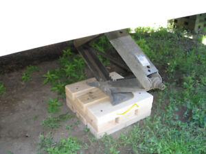 STABILIZING PADS FOR MOTOR HOMES AND HEAVY 5TH WHEEL TRAILERS.