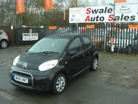 2010 CITROEN C1 VTR+ 1L ONLY 84,941 MILES, £20 A YEAR TAX, FULL SERVICE HISTORY