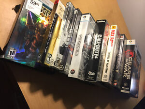 Assortment of PC games