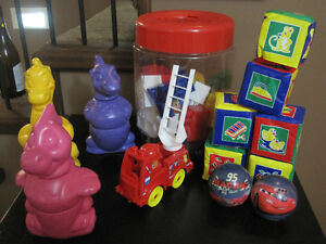 Assorted Toddlers Building Blocks
