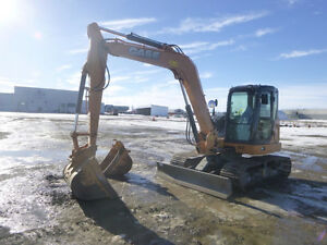 2015 CASE CX80C MINI EXCAVATOR-UP FOR AUCTION!