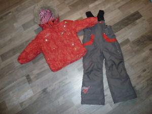 Habit de neige 2 pièces pour fille 2-3 ans