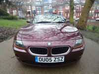 BMW Z4 2.2i 2005MY SE Roadster 12 MONTHS MOT 12 MONTHS WARRANTY MINT CONDITION