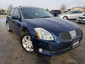 2004 Nissan Maxima 4dr Sdn, Auto, Certified, Leather, Sunroof